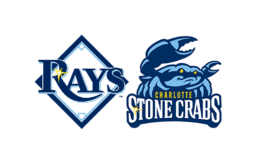 tampa bay rays and charlotte stone crabs logos